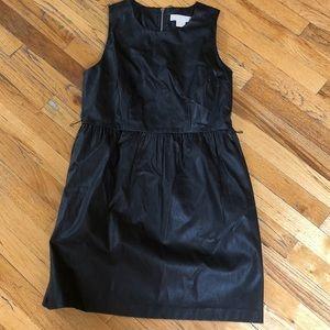 Michael Kors Faux Leather Dress Size 10P